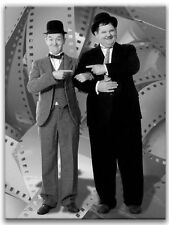 """Laurel and Hardy Canvas Gallery Wrap Ready to Hang  22"""" x 16"""""""