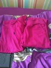 Girls pink Ralph Lauren Long Sleeve Top and bottoms - Age 12-14