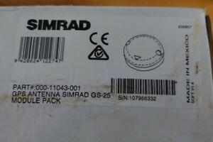 Simrad GS25 GPS Antenna Module Pack│GPS/WAAS/EGNOS│Waterproof│For Marine/Boats