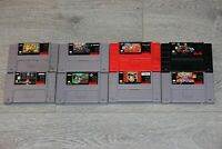 Excellent Super Nintendo SNES games (AUTHENTIC) - TESTED (Pick n' Choose)