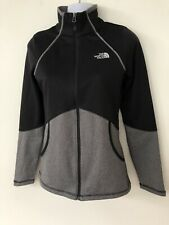 Ladies The North Face Black Grey Zip Jacket Size XS 6