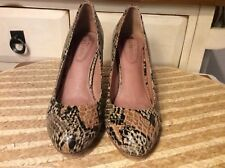 Corso Como animal print Upper High Heel Pumps Shoes Women's Sz 7.5 M