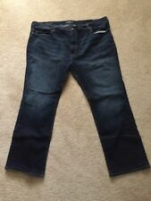 Lucky Brand jeans, 181 relaxed straight fit, dark blue, men's - 50 x 34