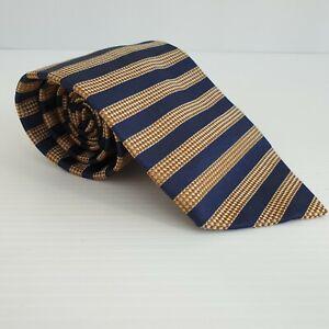 Country Road Australia Mens 100% Silk Neck Tie Stripe 57L 4W TI61