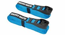 Rhino Roof Rack 5.5m Rapid Tie Down Straps with Buckle Protector RTD55P