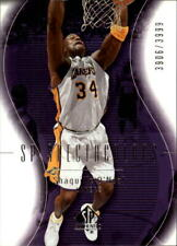 2003-04 SP Authentic Lakers Basketball Card #117 Shaquille O'Neal SPEC /3999