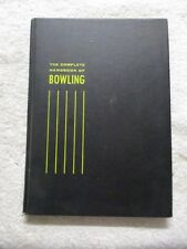 "1958, ""The Complete Handbook Of Bowling"", Fraley & Terkow"