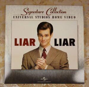 LIAR LIAR 2-Laserdisc SIGNATURE COLLECTION WIDESCREEN