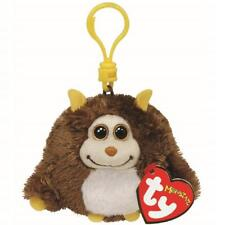 Ty Beanie Babies 37304 Monstaz Rocko the Brown Monster Monster Key Clip