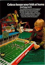 1971 ADVERT 2 Sided Coleco Pro Stars Baseball Boston Bruins Hockey NHL Football