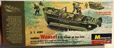 Monogram US Army Amphibious Weasel FS NEW Model Kit 'Sullys Hobbies'