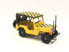 Jeep Willys MB Follow Me 1/38 n98 Metal Collection Tanks And Vehicles Military