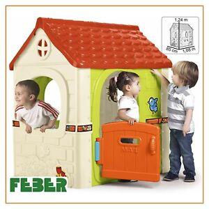 casa casetta per bambini 3 anni da giardino esterno fantasy house feber