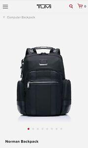 New Tumi Alpha Bravo Norman Backpack.
