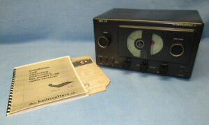 Hallicrafters S-38 Shortwave Receiver – Recapped and Works Well