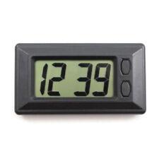 Mini LCD Automotive Digital Car Clock Self-Adhesive Stick Time Portable Small