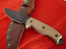 "Ontario USA Made 10.5"" RAT-5 full tang fixed blade knife & sheath"
