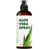 Pure Aloe Vera Spray For Face & Body Moisturizer Skincare 4 oz