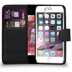 Premium Leather Wallet Flip Case Cover for Apple iPhone 7 6 6s 7 Plus 5 5S SE 4