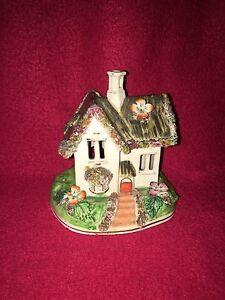 Staffordshire Pastel Burner Cottage Ca. 1840 House Great Detail