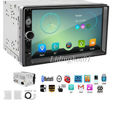 "WINCE 6.0 7"" 2 Din HD Touch Screen Car Stereo Radio Player GPS Navigation"