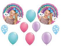 10 PC JOJO SIWA Birthday Balloons CAKE Dance sky Rainbow Free Ship
