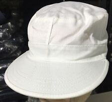 White Small (7) Mens Combat Cap Type II Hat Free Shipping  Rothco Cotton Blend