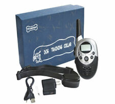 Pet Dog Training Collar Rechargeable and Waterproof Remote Control Bark Control