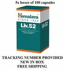 Liv. 52 500 capsules Hepato-protect Natural Herbal Himalaya free shipping world