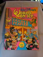 Walt Disney's World On Ice - Live! Double Feature Souvenir Program (1992) Game