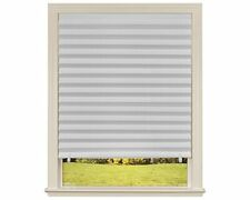 6-Pk Paper Window Blinds Black Out Pleated 36 x 72 Inch Sun Shade Pull Down