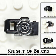 LEGO Minifigure BLACK Camera Telephoto Small Lens City Town Train Tourist Tool