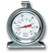 Brannan Classic Dial Stainless Steel Oven Thermometer 50mm