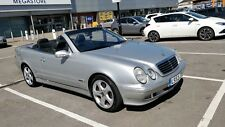 Mercedes CLK230 convertible, final edition
