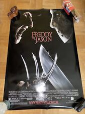 Freddy Vs. Jason Movie Poster Original Ds 27x40 Horror Film 2003