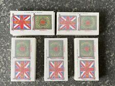 More details for regimental standards & cap badges - 5 x reproduction sets - ideal for framing
