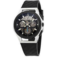 Bulova Curv Chronograph Grey Dial Men's Watch 98A161
