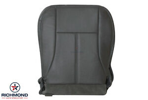 2004-2006 GMC Canyon SLT Z71 - Driver Side Bottom Leather Seat Cover Dark Gray
