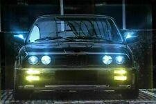 LED Bild Leuchtbild LED Bilder Wandbild / AUTO / OLD CAR / OLDTIMER / SPORTWAGEN