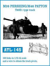 1/35 ATL145 FreeShip FRIULMODEL METAL TRACK for M26 PERSHING & M46 PATTON