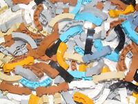Lego ® Lot x10 Brique Arrondie 4x4 Brick Round Corner Choose Color 48092 NEW