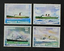 CKStamps: France Stamps Collection French Polynesia Scott#307-310 Mint NH OG