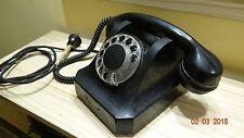 1953's-era Vintage Bakelite Rotary-dial Desktop Telephone-