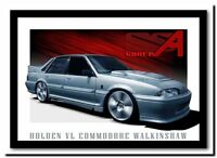 QUALITY CANVAS ART PRINT Holden Walkinshaw `walky' Vl commodore A4 poster