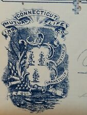 A Neat, July 3rd 1901, City Bank Of Hartford, Connecticut -  $71  Great 2 color