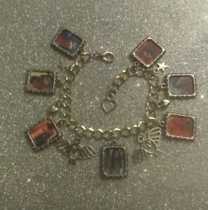 Silver Plated Charm Bracelet With Charms Labyrinth Jared Sarah Hoggle Ludo Worm