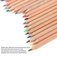 24/36/48 x Oil-based Art Colored Pencils Set Artist Painting Tool for Adult Kids
