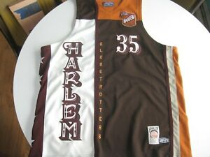 "Official Harlem Globetrotters 1927 Platinum FUBU Limited Edition 3XL ""Geese"" BIS"