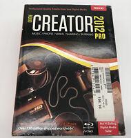 Roxio Creator 2012 Pro Digital Media Suite - Music Photo VIdeo Burning Program