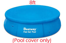 NUOVO Bestway Fast Set Pool Cover Protettore con corde